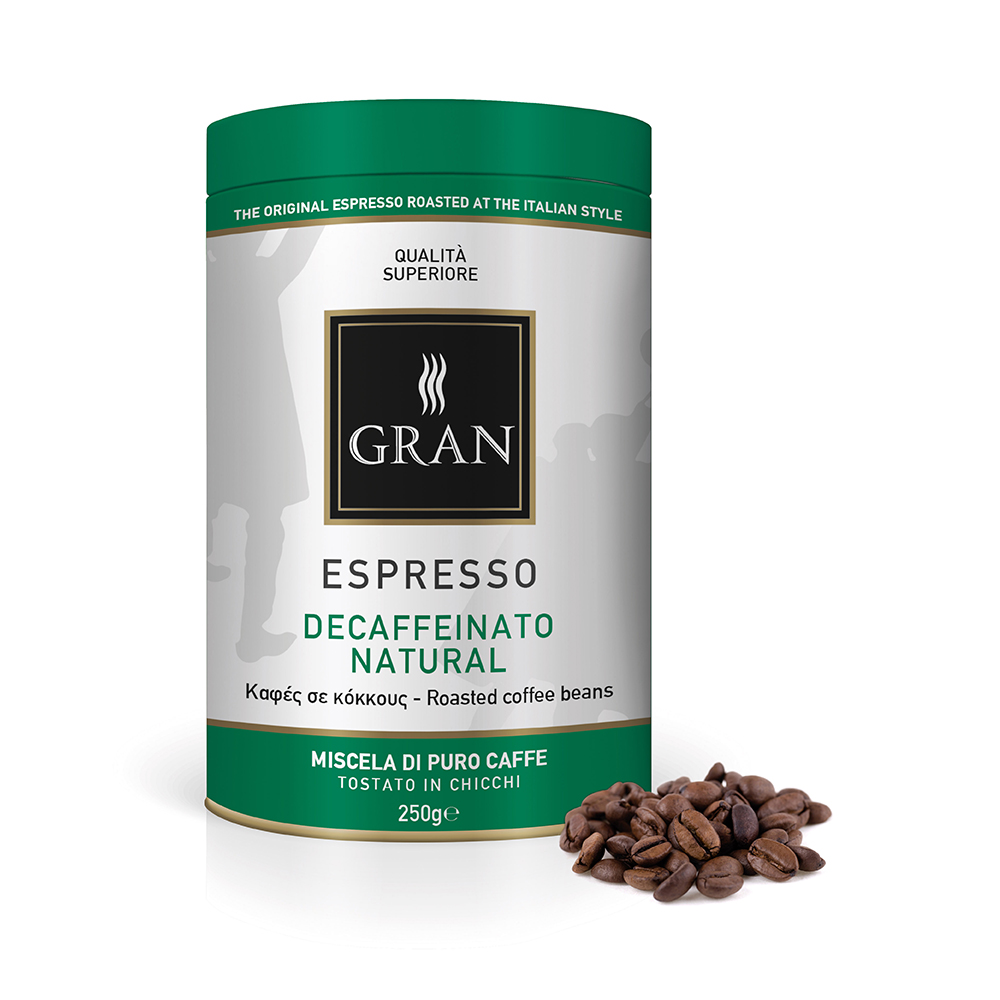 Gran_Espresso_Decaf_whole_bean_coffee_can_250gr_GiorgioPietri