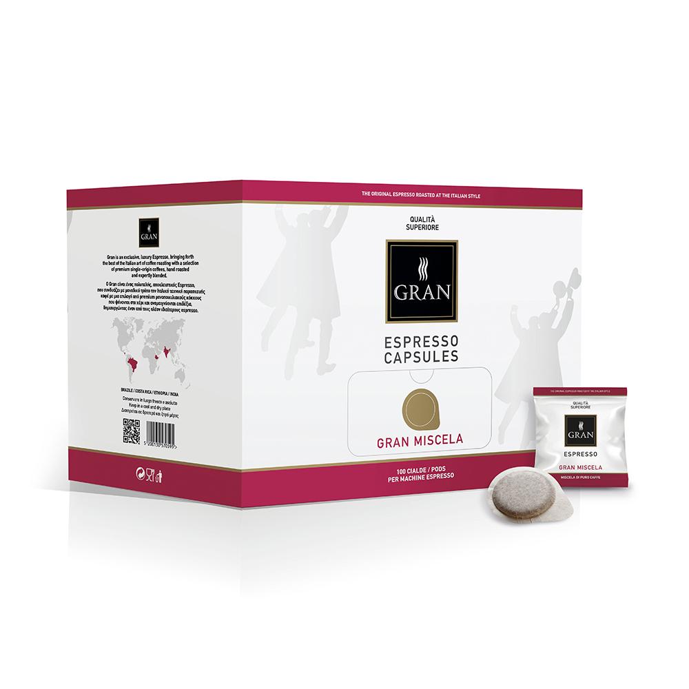 Gran_Espresso_GranMiscela_Pods_Ese_GiorgioPietri_Box_100pcs