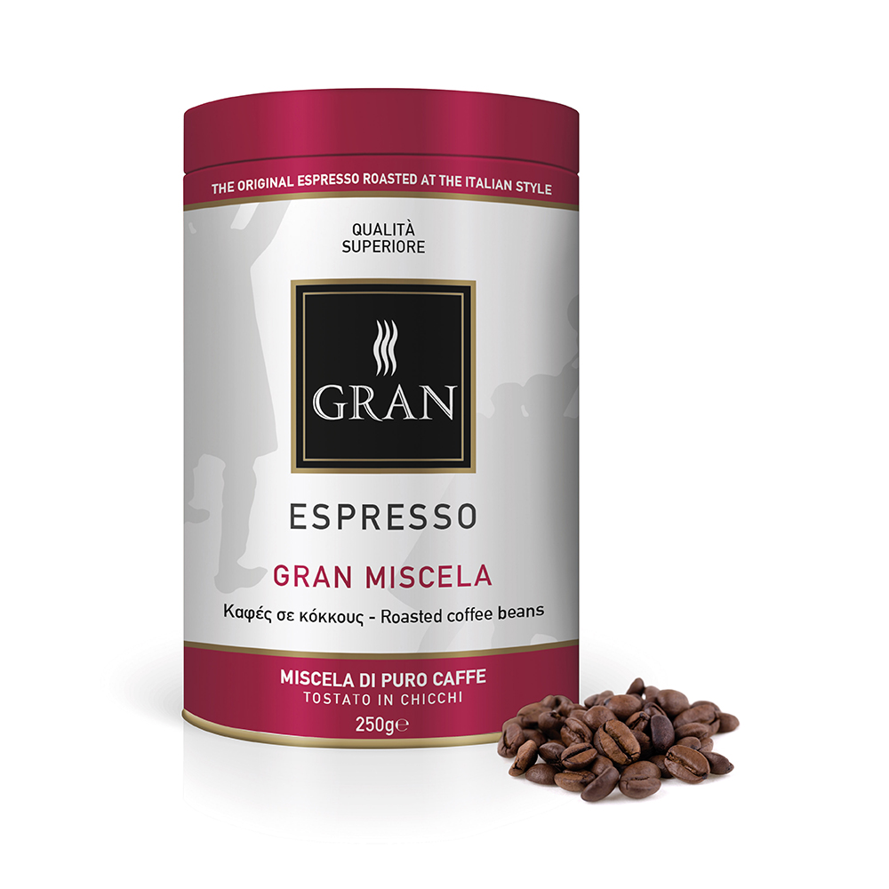 Gran_Espresso_GranMiscela_whole_bean_coffee_can_250gr_GiorgioPietri