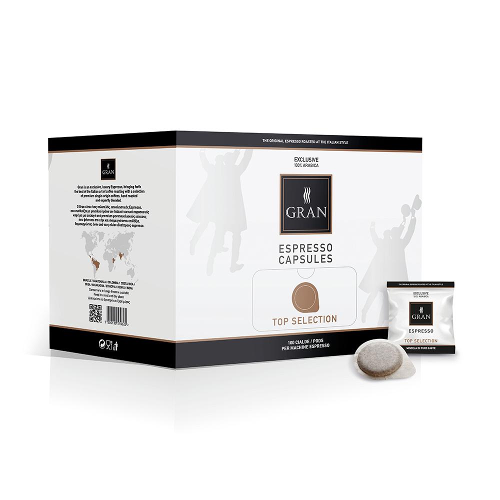 Gran_Espresso_TopSelection_Pods_Ese_GiorgioPietri_Box_100pcs