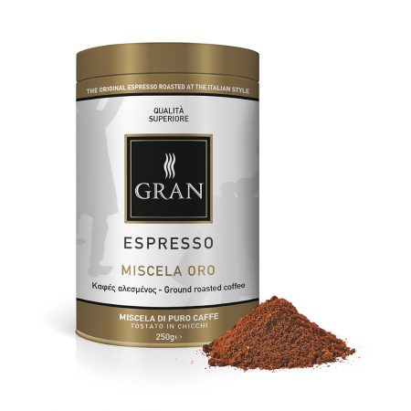 Gran_Espresso_MiscelaOro_Ground_coffee_can_250gr_GiorgioPietri