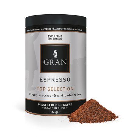 Gran_Espresso_TopSelection_Ground_coffee_can_250gr_GiorgioPietri